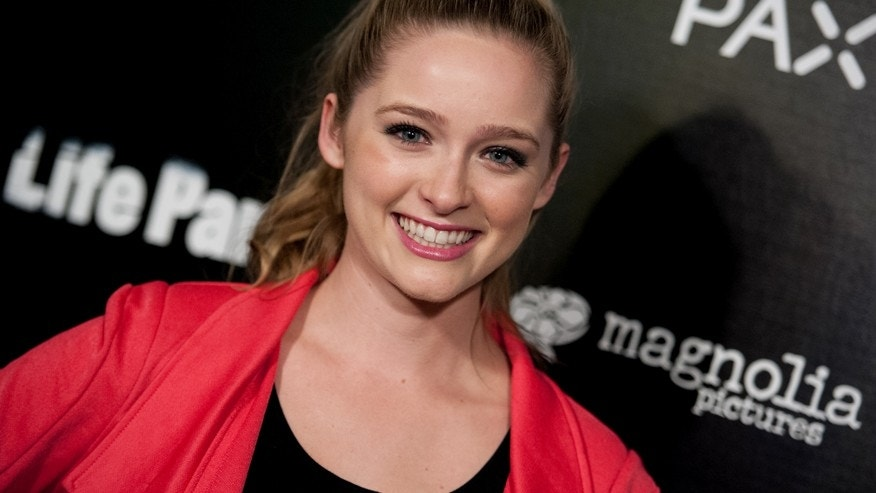 "Greer Grammer arrives at the LA Special Screening of ""Life Partners"" on Tuesday, Nov 18, 2014, in Los Angeles."