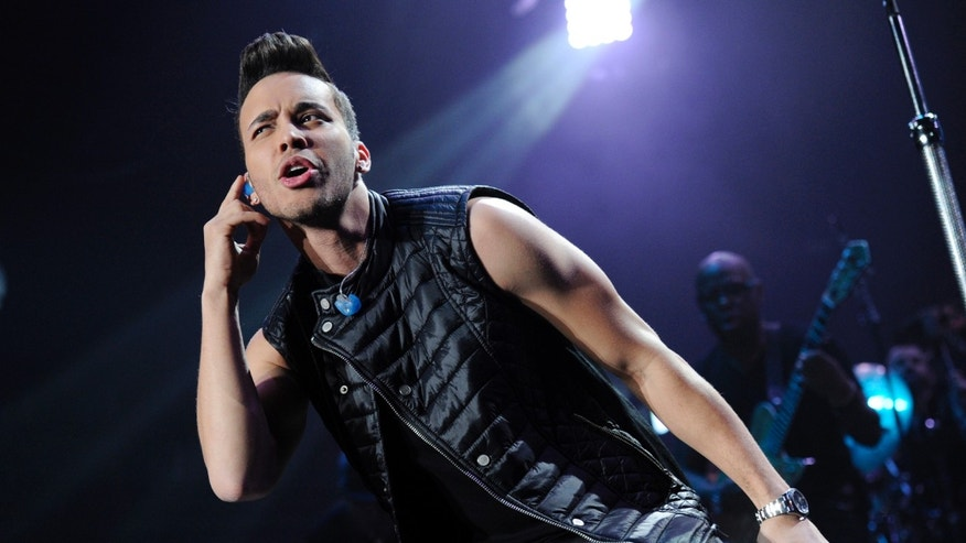 Prince Royce performs at the iHeart Radio Fiesta Latina concert on Saturday, Nov. 22, 2014, in Inglewood, Calif.