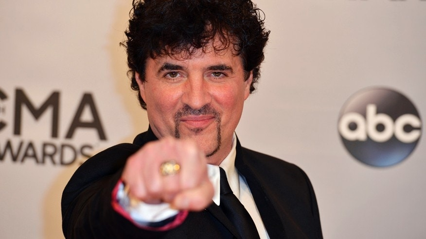 Businessman Scott Borchetta arrives at the 48th Country Music Association Awards in Nashville, Tennessee November 5, 2014.