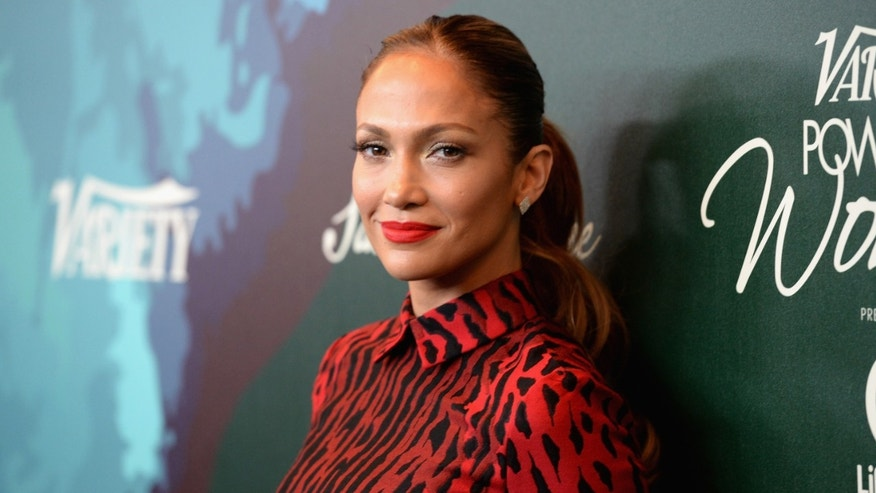 Honoree Jennifer Lopez attends the 2014 Variety Power of Women in Los Angeles, California.