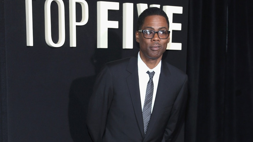 "Chris Rock attends the ""Top Five"" New York Premiere  at Ziegfeld Theater on December 3, 2014 in New York City."