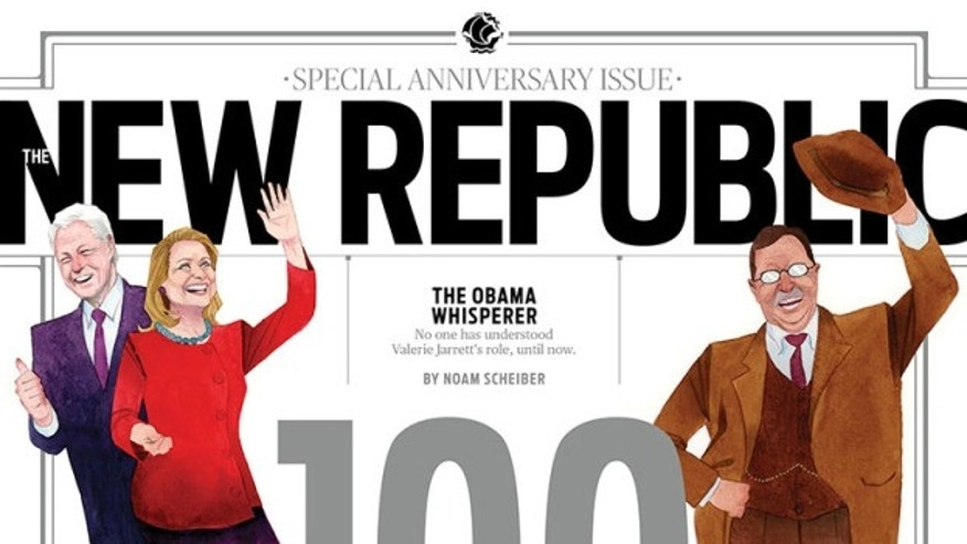 new republic resignations