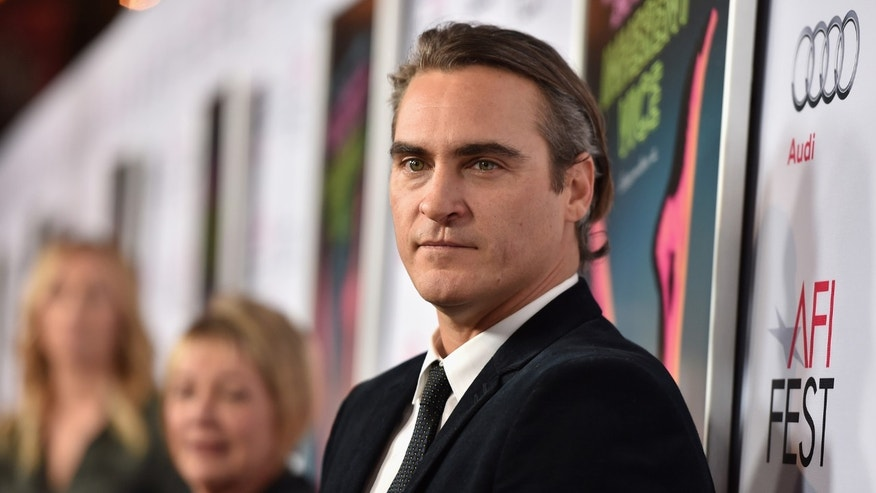 Joaquin Phoenix on November 8, 2014 in Hollywood, California.