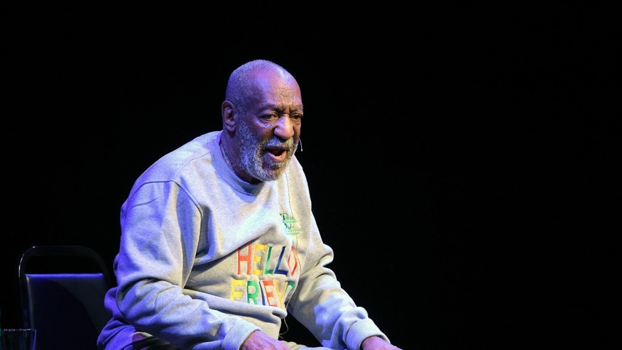 Nov. 21, 2014. Bill Cosby performs during a show at the Maxwell C. King Center for the Performing Arts in Melbourne, Fla.