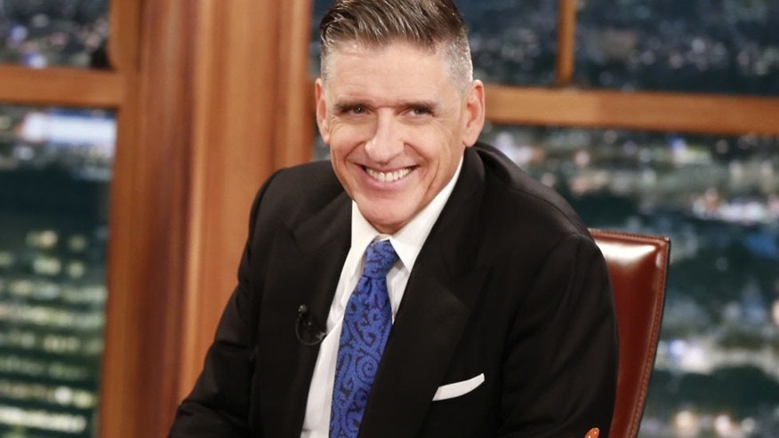 "In this Dec. 15, 2014 photo released by CBS, host Craig Ferguson appears on the set of ""The Late Late Show with Craig Ferguson,"" in Los Angeles."