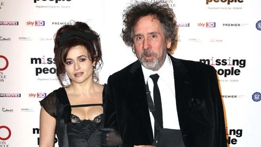 Jan. 20, 2013: Helena Bonham Carter and Tim Burton at the 33rd London Critics Circle Film Awards at the May Fair Hotel in London.