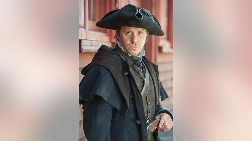 "In this 2014 photo released by the History Channel, Michael Raymond-James plays the role of Paul Revere in ""Sons of Liberty,"" a new miniseries premiering in January 2015 on the History Channel. (AP Photo/History Channel, Ollie Upton)"