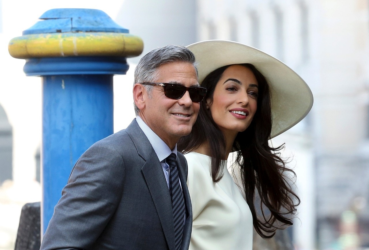 George Clooney's wife Amal risks arrest in Egypt