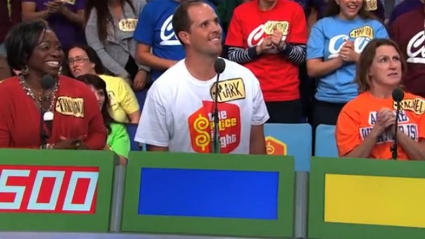 Scene from 'The Price is Right.'