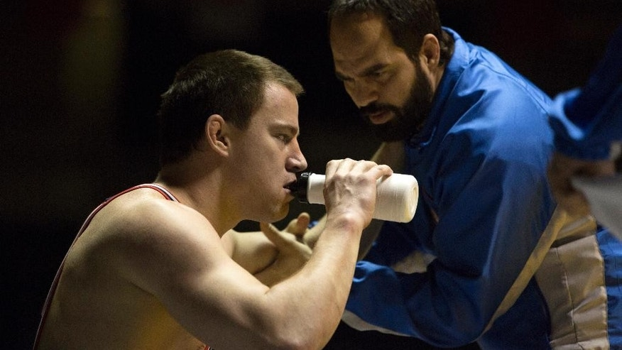 Channing Tatum and Mark Ruffalo in 'Foxcatcher.'