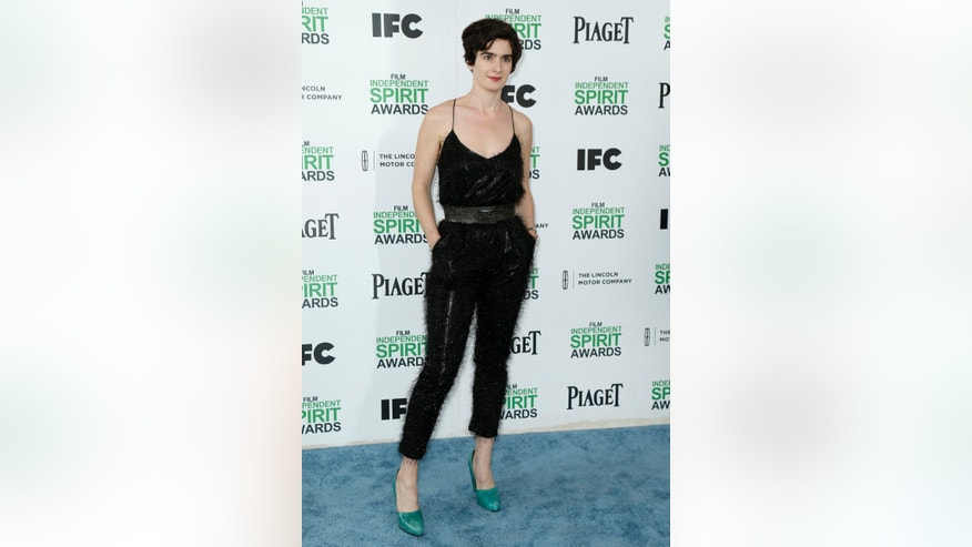 Actress Gaby Hoffmann arrives at the 2014 Film Independent Spirit Awards in Santa Monica, California March 1, 2014.  REUTERS