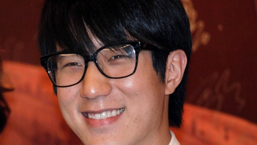 FILE - In this June 14, 2010 file photo, Hong Kong actor Jaycee Chan poses during a premiere of his film 'Break Up Club' in Hong Kong. (AP Photo/Vincent Yu, File)