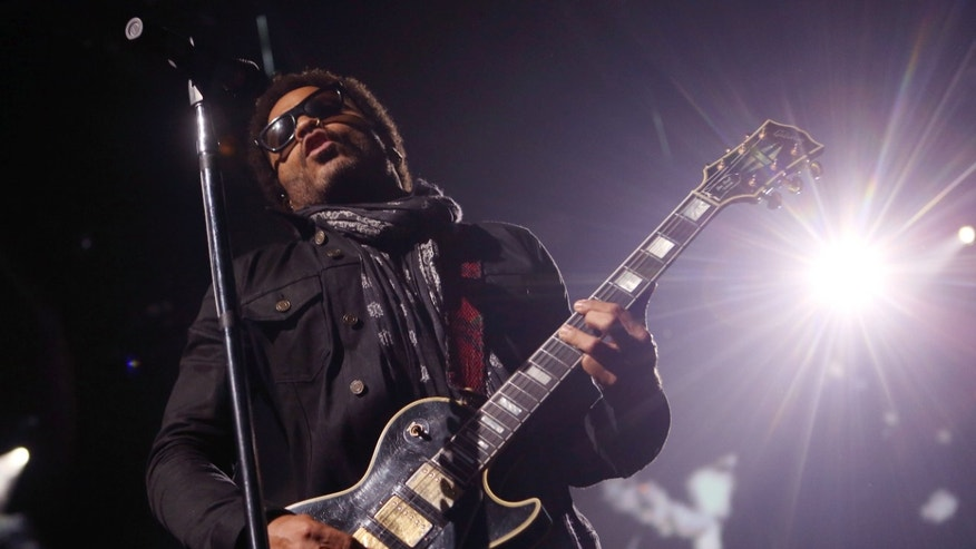 Sept. 26, 2014. Lenny Kravitz performs on stage at the iTunes festival at Camden Roundhouse in London.