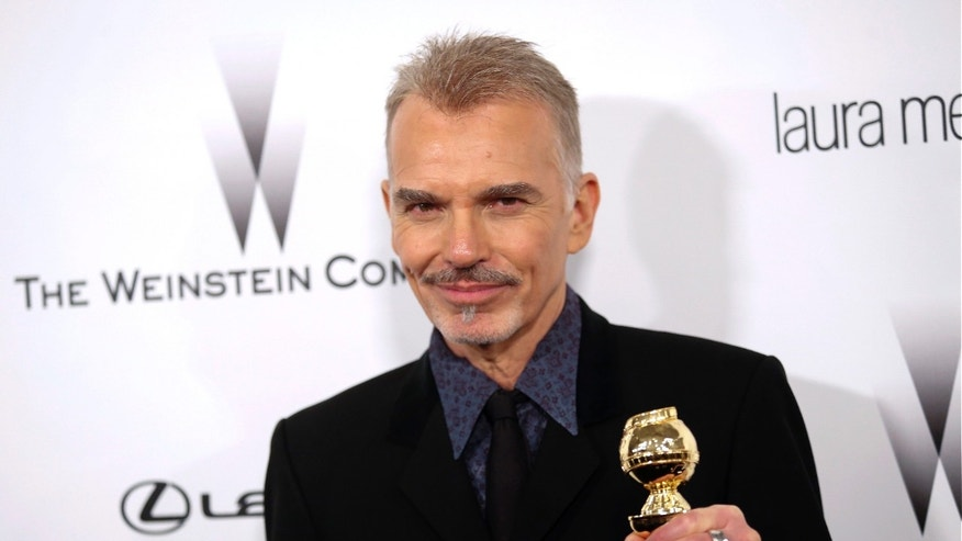 Actor Billy Bob Thornton arrives at the Weinstein Netflix after party after at the 72nd annual Golden Globe Awards in Beverly Hills, California January 11, 2015.  REUTERS/Patrick T. Fallon   (UNITED STATES - Tags: ENTERTAINMENT) (GOLDENGLOBES-PARTIES) - RTR4L16I