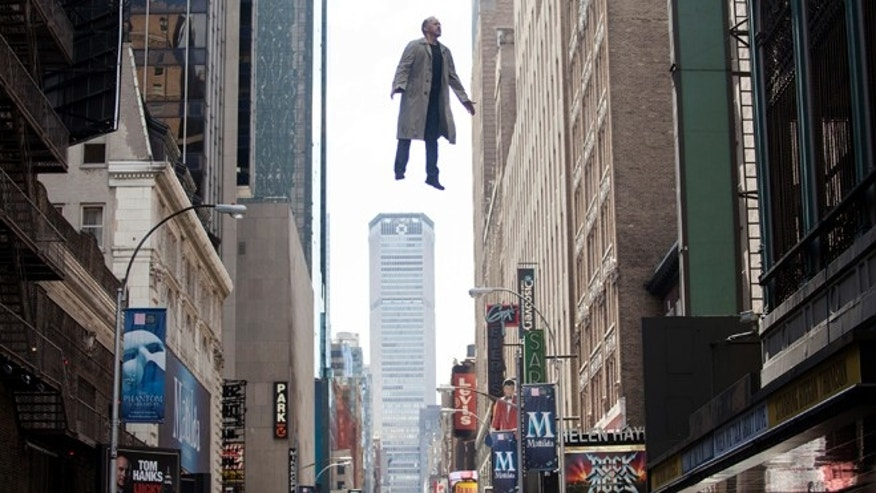 "In this image released by Fox Searchlight Pictures, Michael Keaton portrays Riggan in a scene from ""Birdman."" The film was nominated for an Oscar Award for best feature on Thursday, Jan. 15, 2015. The 87th Annual Academy Awards will take place on Sunday, Feb. 22, 2015 at the Dolby Theatre in Los Angeles.(AP Photo/Fox Searchlight, Atsushi Nishijima)"