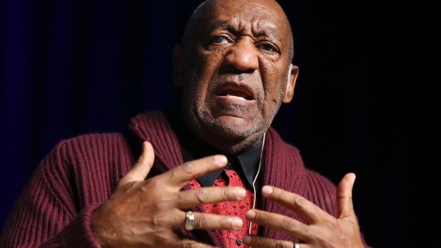 Nov. 6, 2013: Comedian Bill Cosby performs at the Stand Up for Heroes event at Madison Square Garden, in New York.