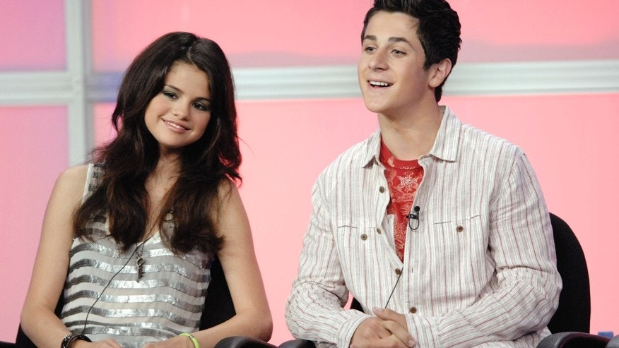 "Cast members Selena Gomez (L) and David Henrie answer questions during the panel for the Disney Channel series ""Wizards of Waverly Place"" at the Television Critics Association Summer Press Tour in Beverly Hills, California July 14, 2007."