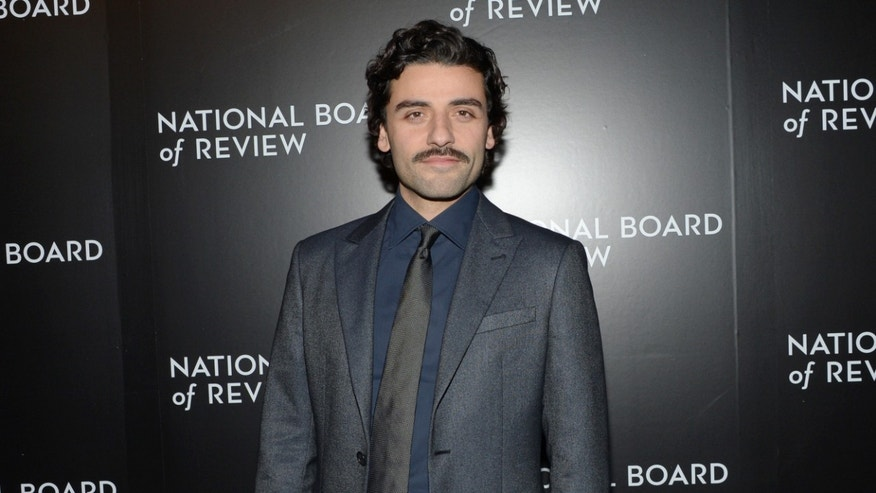 Oscar Isaac at the National Board of Review Awards Gala on Tuesday, Jan. 6, 2015, in New York.