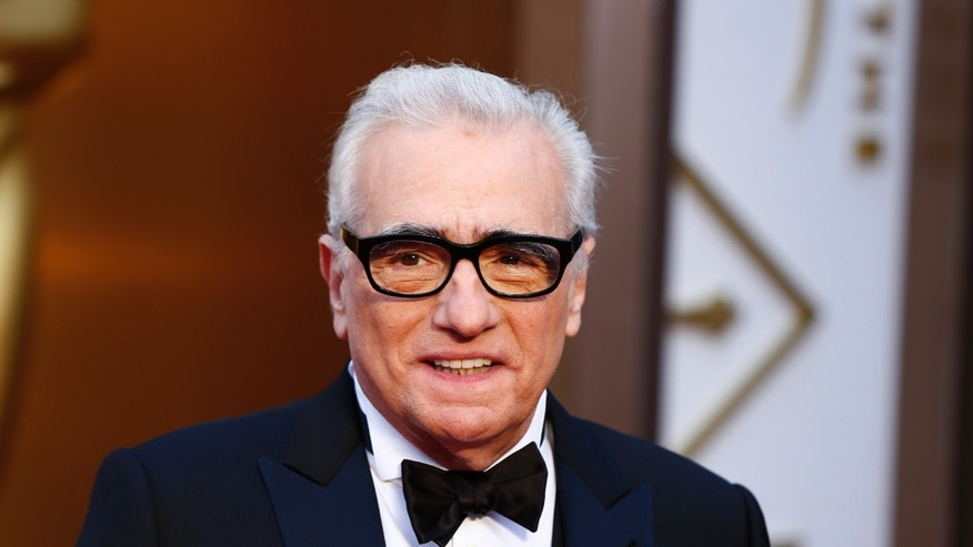 "Martin Scorsese, best director nominee for his film ""The Wolf of Wall Street"", arrives at the 86th Academy Awards in Hollywood, California March 2, 2014. REUTERS/Lucas Jackson (UNITED STATES  - Tags: ENTERTAINMENT HEADSHOT)(OSCARS-ARRIVALS) - RTR3FY3R"