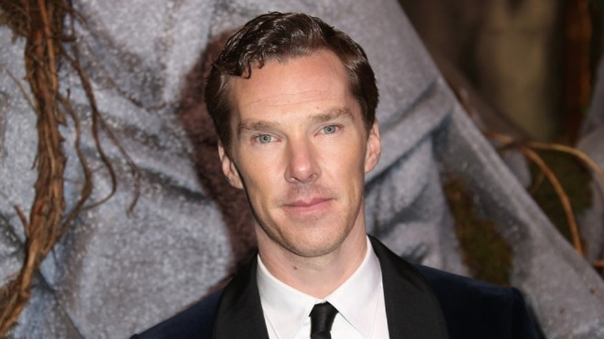 "Dec. 1, 2014. Benedict Cumberbatch as he poses for photographers upon his arrival at the world premiere of the film ""The Hobbit, The Battle of the Five Armies"" in London."
