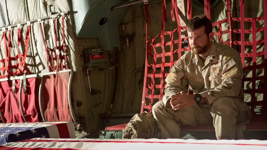 "Bradley Cooper appears in a scene from ""American Sniper."""