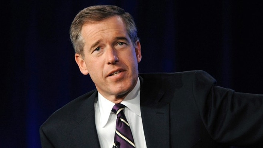"Jan. 10, 2010: Brian Williams from ""NBC Nightly News"" answers a question during the panel for NBC News at the NBC Universal sessions of the Television Critics Association winter press tour in Pasadena, Calif."