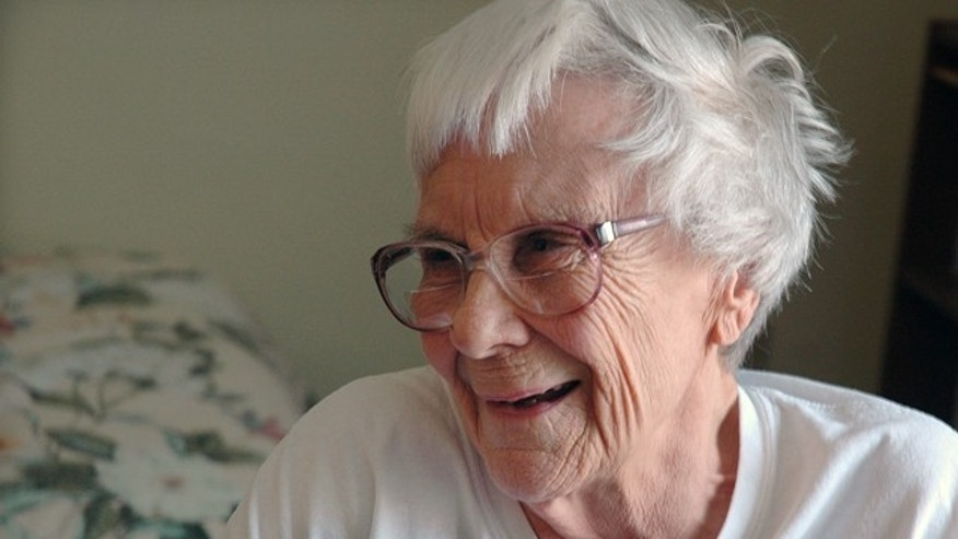 May 19, 2010: This photo shows author Nelle Harper Lee in her assisted living room in Montoeville, Ala. (AP Photo/Penny Weaver)