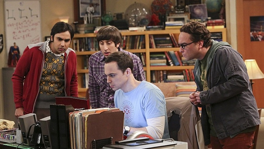 Picture features the 'Big Bang Theory' stars.