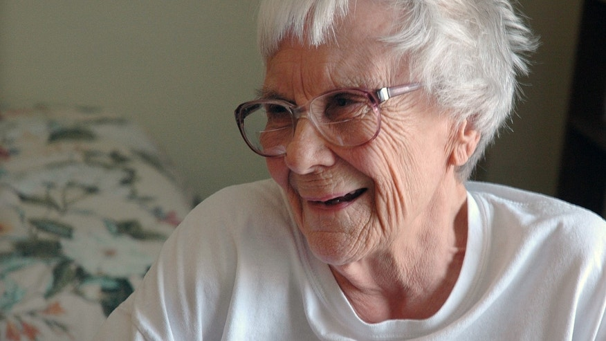 "May 19, 2010. Nelle Harper Lee, author of  ""To Kill A Mockingbird,"" in her assisted living room in Montoeville, Ala."