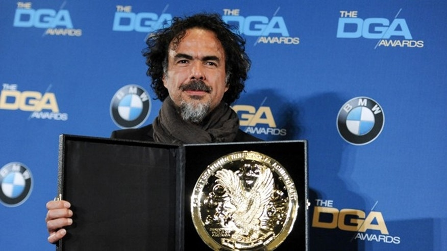 February 7, 2015. Director Alejandro G. Inarritu attends the Press Room at the 67th Annual DGA Awards in Los Angeles.