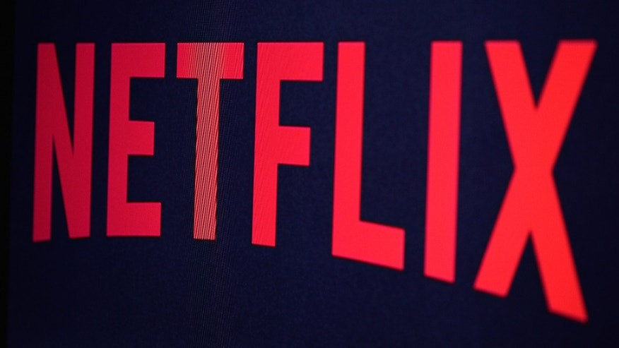PARIS, FRANCE - SEPTEMBER 19:  In this photo illustration the Netflix logo is seen on September 19, 2014  in Paris, France.  Netflix September 15 launched service in France, the first of six European countries planned in the coming months.  (Photo by Pascal Le Segretain/Getty Images)