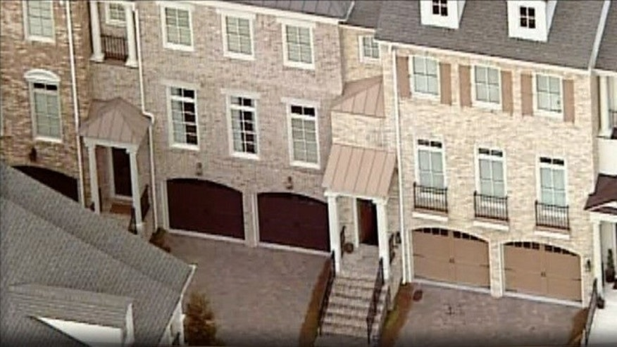 This undated aerial photo shows Bobbi Kristina Brown's townhouse in Roswell, Ga. (MyFoxAtlanta.com0