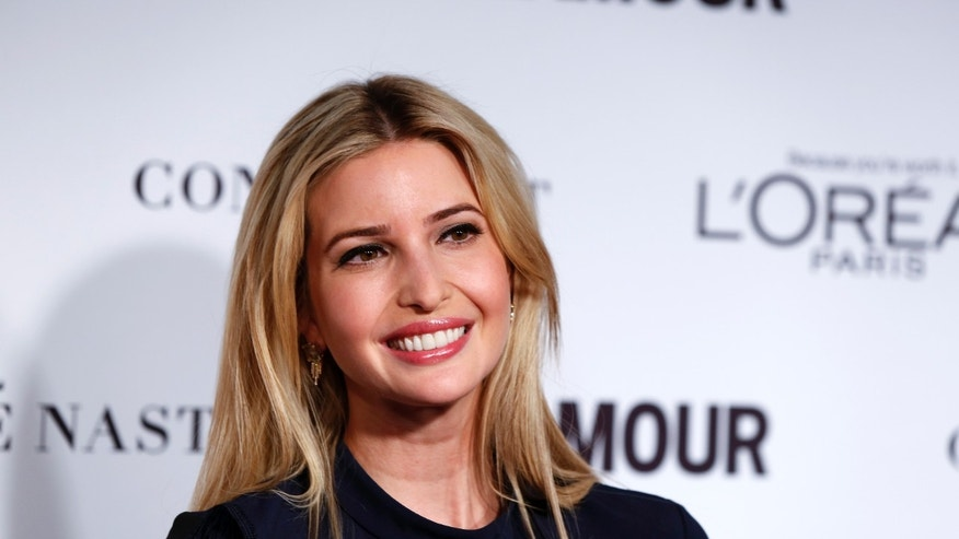 November 10, 2014. Ivanka Trump arrives for Glamour Magazine's annual Women of the Year award ceremony in New York.