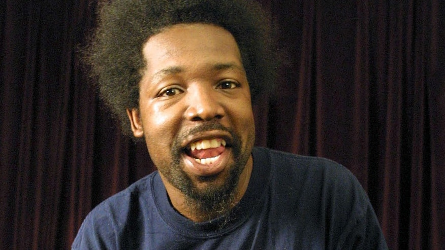 Aug 22, 2001: Rapper Joseph Foreman, aka Afroman, poses for a portrait in New York.