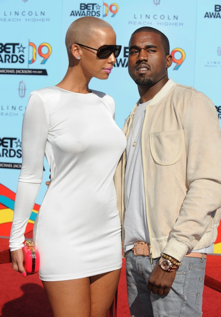 Kanye West and Amber Rose exchange insults