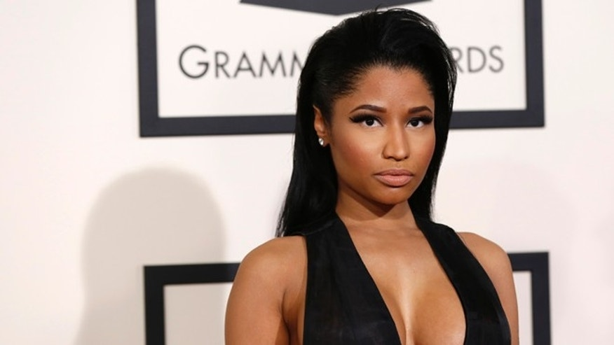 Feb 8, 2015. Rapper Nicki Minaj arrives at the 57th annual Grammy Awards in Los Angeles, California.