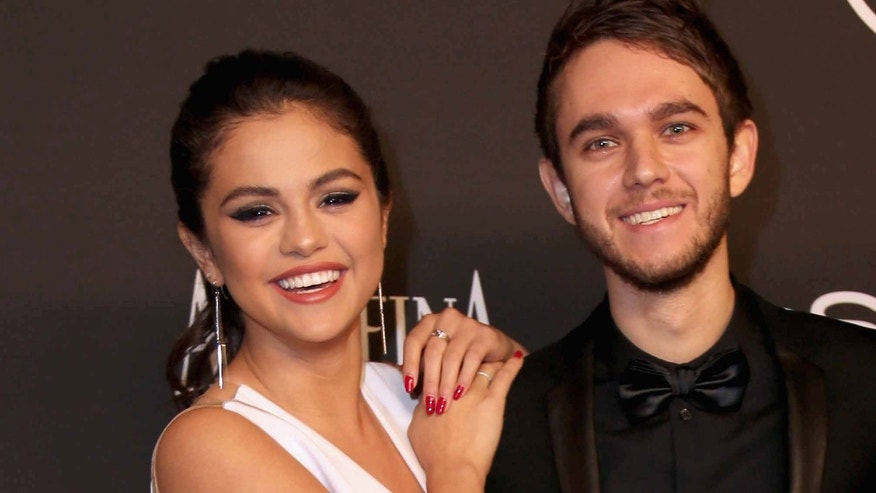 Singer/Actress Selena Gomez and music producer and DJ Zedd attend the 2015 InStyle And Warner Bros. 72nd Annual Golden Globe Awards Post-Party at The Beverly Hilton Hotel on January 11, 2015 in Beverly Hills, California.