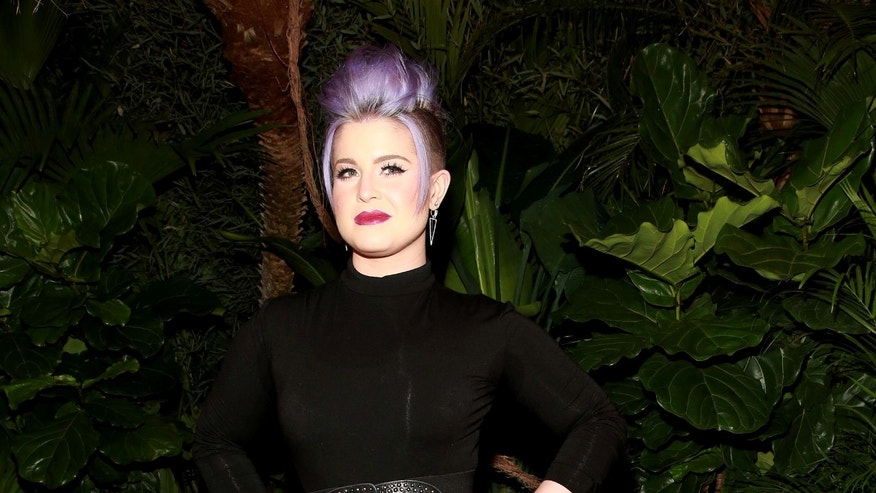 Feb. 14, 2015. Kelly Osbourne at the Christian Siriano fashion show at Artbeam, in New York.