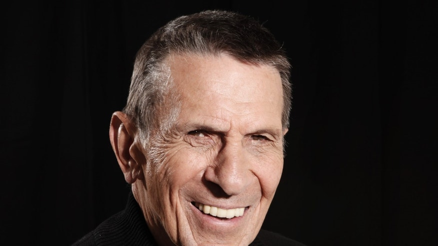 April 26, 2009. Leonard Nimoy poses for a portrait in Beverly Hills, Calif.