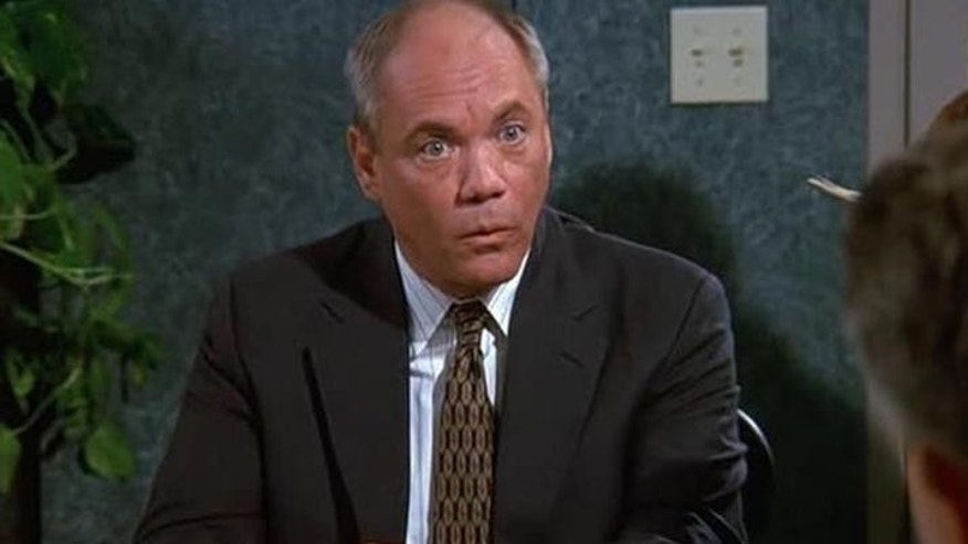 "Daniel von Bargen is shown in a scene from ""Seinfeld."""