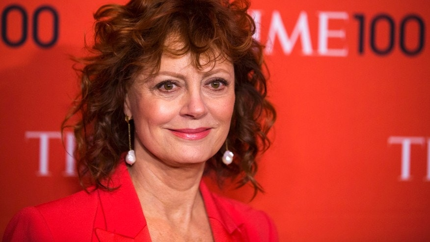 Actress Susan Sarandon arrives at the Time 100 gala celebrating the magazine's naming of the 100 most influential people in the world for the past year in New York April 29, 2014.