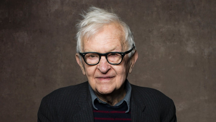 "FILE - In this Jan. 21, 2013 file photo, filmmaker Albert Maysles poses for a portrait during the 2013 Sundance Film Festival to promote his film, ""Focus Forward"" in Park City, Utah. Maysles, known for his works of cinema verite in the 1960s and 70s, including the Rolling Stones documentary Gimme Shelter and Salesman, about a traveling Bible salesman, died Thursday, March 5, 2015 in New York. He was 88. (Photo by Victoria Will/Invision/AP, File)"