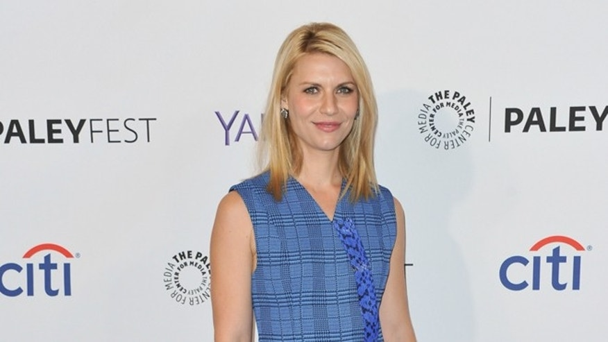 "March 6, 2015. Claire Danes arrives at the 32nd Annual Paleyfest Opening Night Presentation: ""Homeland"" held at the The Dolby Theatre in Los Angeles."