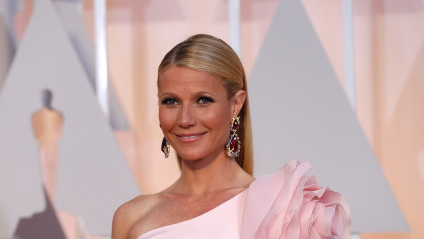 Feb 22, 2015. Actress Gwyneth Paltrows at the 87th Academy Awards in Hollywood, California.