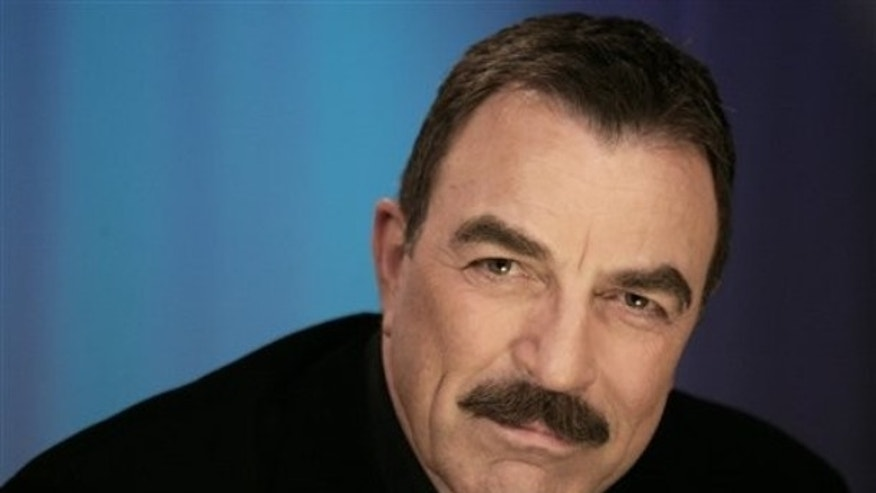 Actor Tom Selleck poses for a portrait in New York, Wednesday, May 5, 2010. (AP Photo/Jeff Christensen)