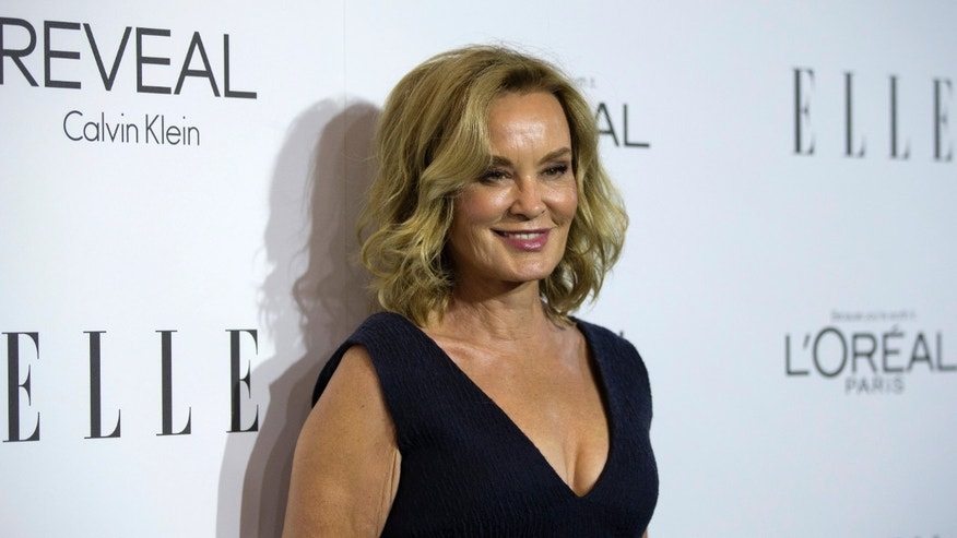 Actress and honoree Jessica Lange poses at the 21st annual ELLE Women in Hollywood Awards in Los Angeles, California October 20, 2014.  REUTERS