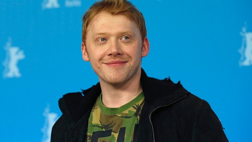 "Actor Rupert Grint poses during a photocall to promote the movie ""The Necessary Death of Charlie Countryman"" at the 63rd Berlinale International Film Festival in Berlin February 9, 2013."