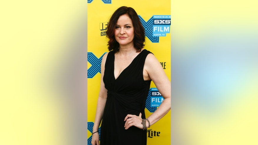 "Ally Sheedy walks the red carpet for ""The Breakfast Club"" 30th Anniversary Restoration World Premiere during the South by Southwest Film Festival on Monday, March 16, 2015 in Austin, Texas. (Photo by Jack Plunkett/Invision/AP)"