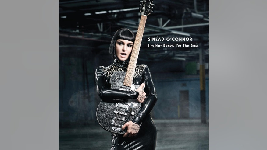 "This CD cover image released by Nettwerk Records shows ""I'm Not Bossy. I'm The Boss,"" by Sinead O'Connor. (AP Photo/Nettwerk Records)"