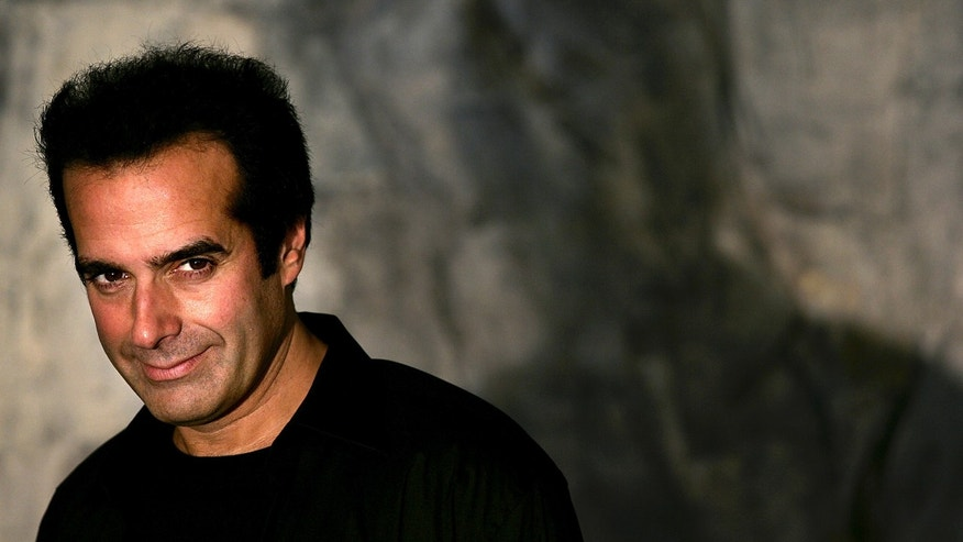 October 3, 2005. Magician David Copperfield at a news conference in Sofia, Bulgaria.
